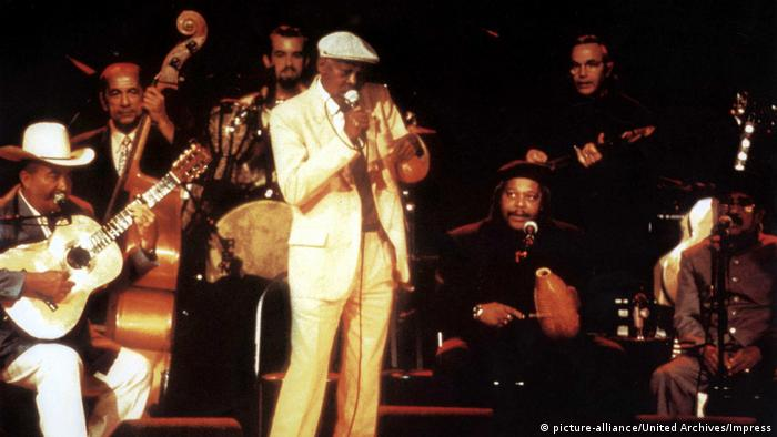 Buena Vista Social Club, musicians on stage