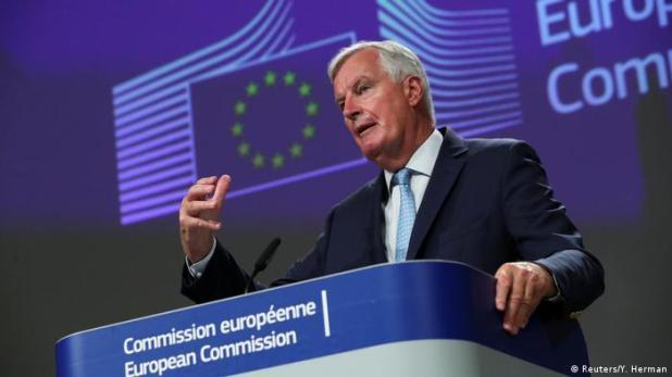Brüssel Brexit-Unterhändler Michel Barnier (Reuters/Y. Herman)