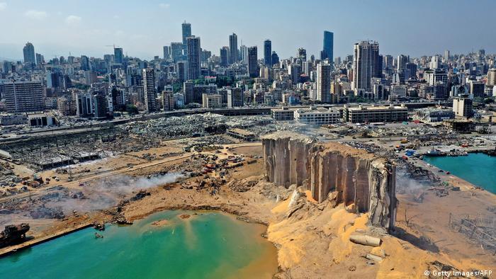BM estima en hasta 4.600 millones daños por explosión en Beirut | El Mundo  | DW | 31.08.2020