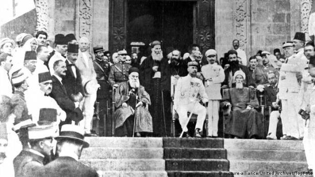 Die Französen in Syrien (picture-alliance/United Archives/TopFoto)