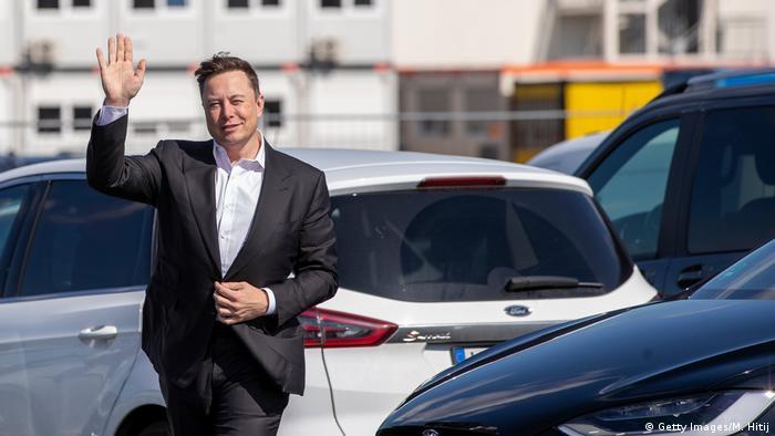 Germany Grünheide Elon Musk