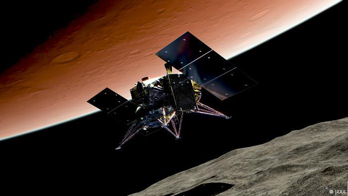 La misión japonesa MMX investigará las lunas del planeta rojo
