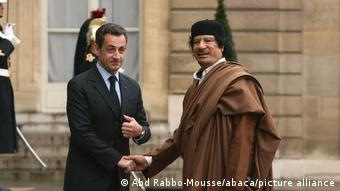 Σαρκοζί Καντάφι