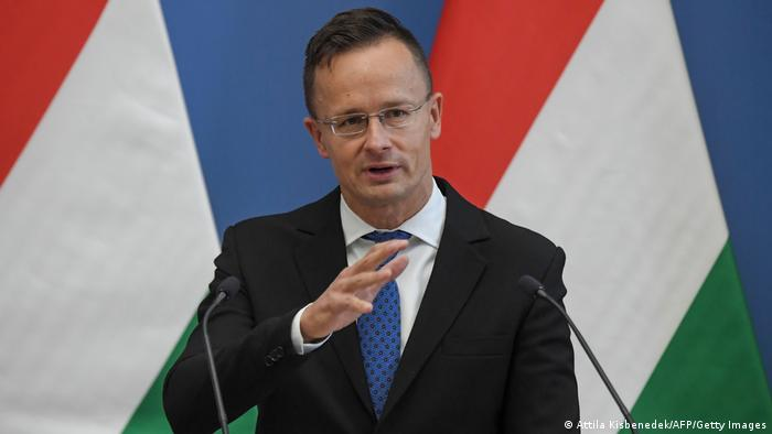 Ungarn Budapest | Außenminister | Peter Szijjarto