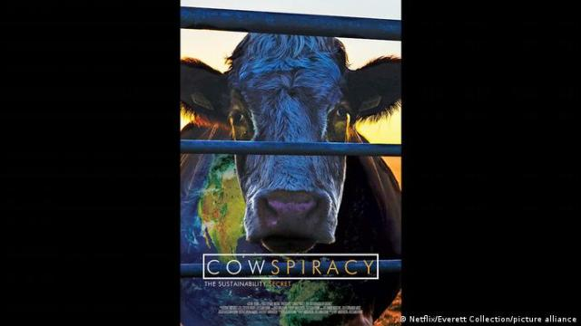 Film poster of Cowspiracy: The Sustainability Secret