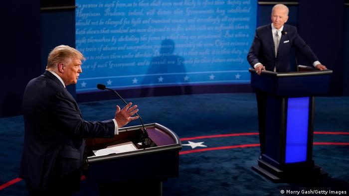 USA I 2020 presidential election I Joe Biden - Donald Trump