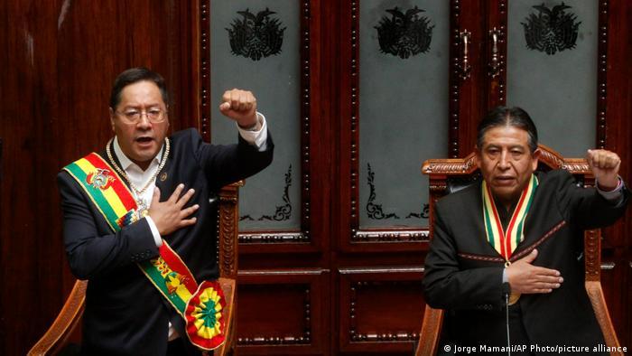 Congreso salvadoreño felicita a presidente boliviano tras toma de posesión