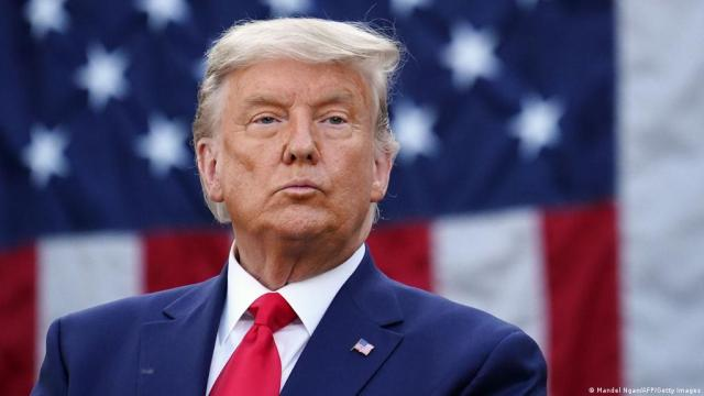 Donald Trump hints at stepping down, saying ′Who knows?′ | News | DW |  14.11.2020