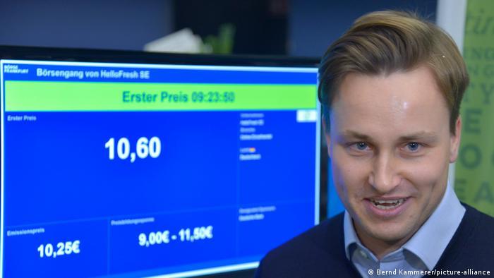 Dominik Richter CEO of Hello Fresh