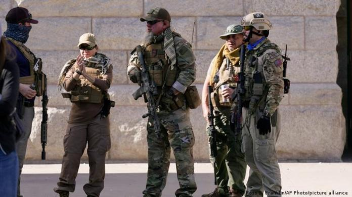 Armed Trump supporters in Arizona