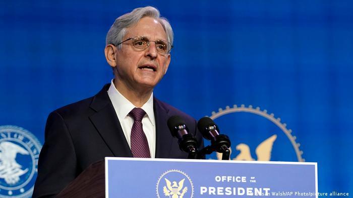 Nominee Attorney General Merrick Garland