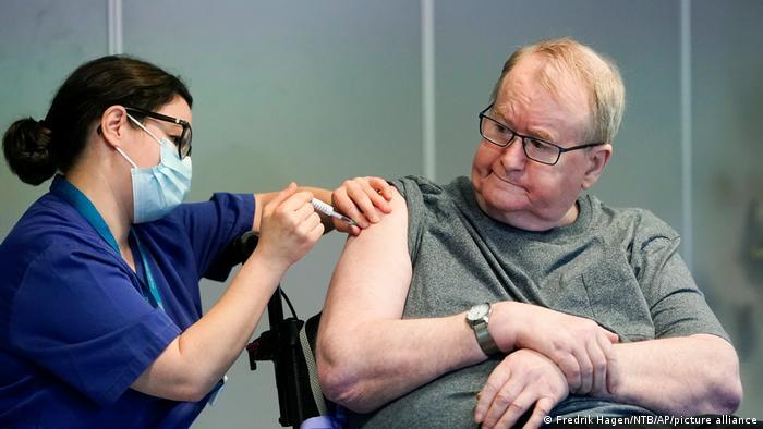 Вакцинація від коронавірусу в Норвегії