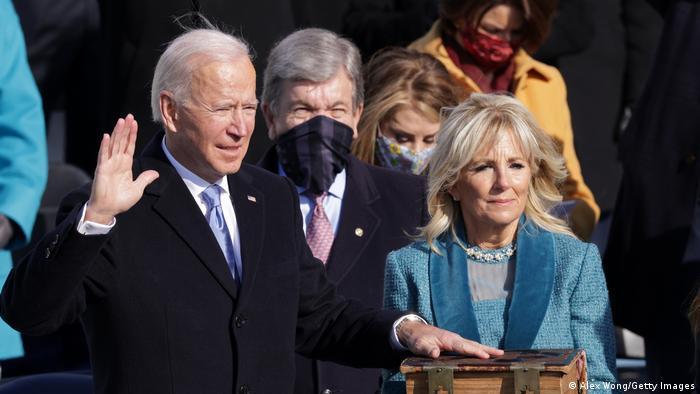 USA Washington |  Inauguration: Joe Biden