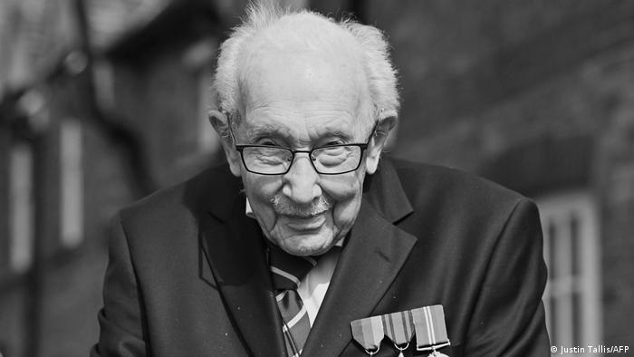 Tom Moore englischer Kriegsveteran