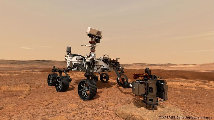 Vehículo explorador Perseverance de la NASA.