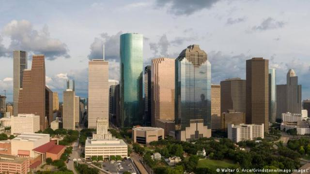 US city of Houston, Texas with skyline.