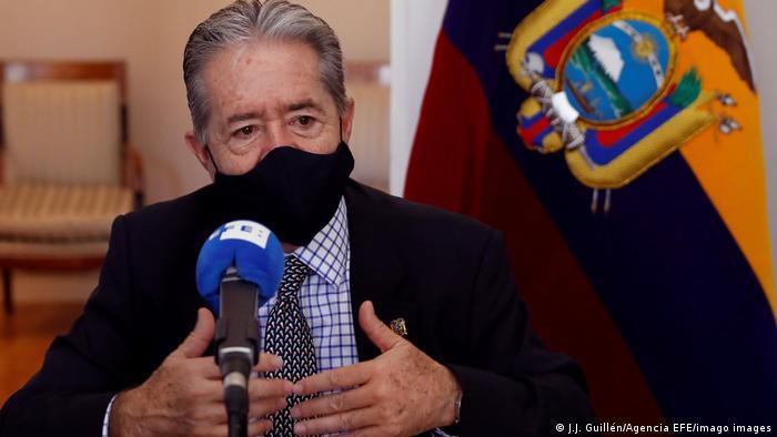 Juan Carlos Zevallos, exministro de Salud de Ecuador