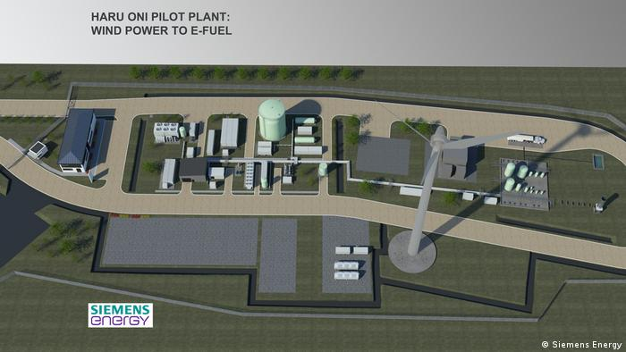 The new e-fuels plant funded by Siemens Energy and Porsche