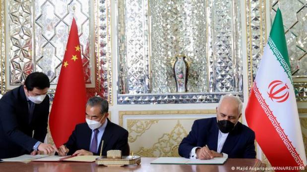 Iran, China sign ′strategic′ deal in Tehran | News | DW | 27.03.2021
