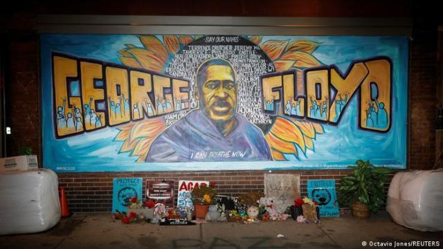 Mural sobre George Floyd, Minneapolis
