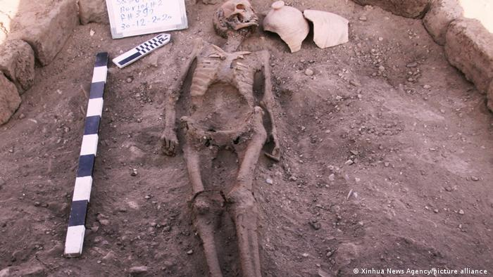 Human skeleton found at Luxor's Lost Gold City