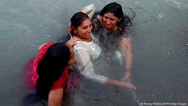 Suyun kutsal olduğuna inanılıyor