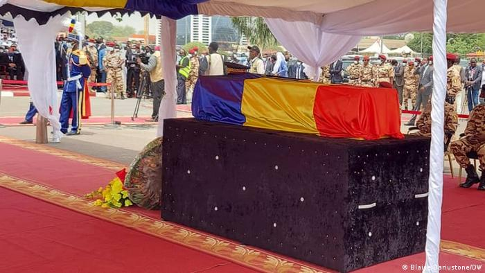 Funeral of former president Idriss Deby Itno