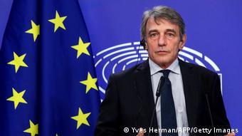 Avrupa Parlamentosu Başkanı İtalyan vekil Sassoli