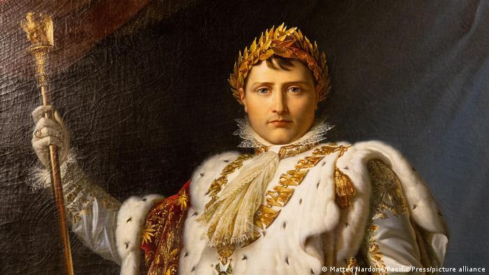 Napoleon Bonaparte as emperor.