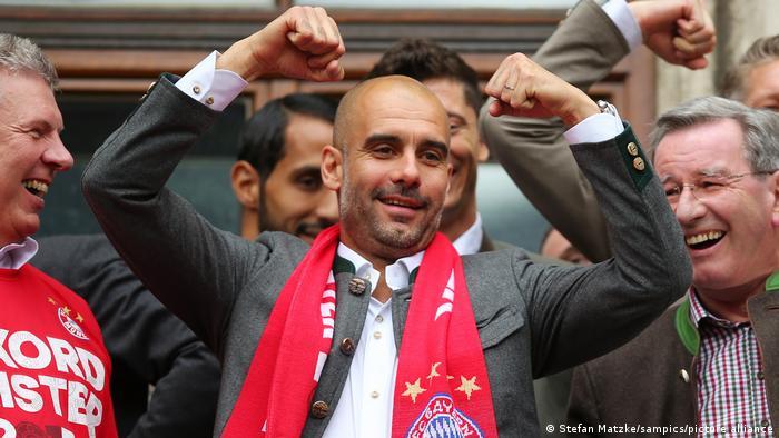 Deutschland München   Meisterfeier 2015   Pep Guardiola