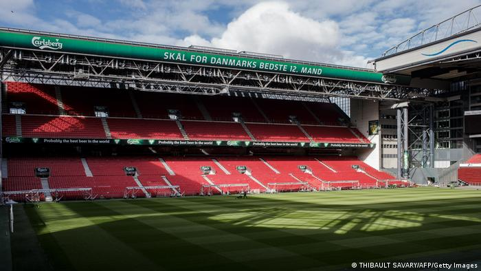 Copenhagen — Parken stadium