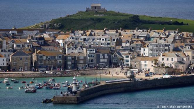 Zirvenin yapılacağı kıyı bölgesi Cornwall