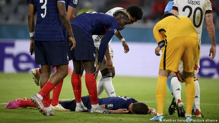 Fußball EM Euro 2021 | Frankreich - Deutschland | Benjamin Pavard