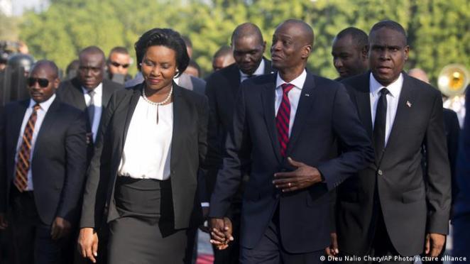 Haiti Devlet Başkanı Jovenel Moise ve eşi Martine