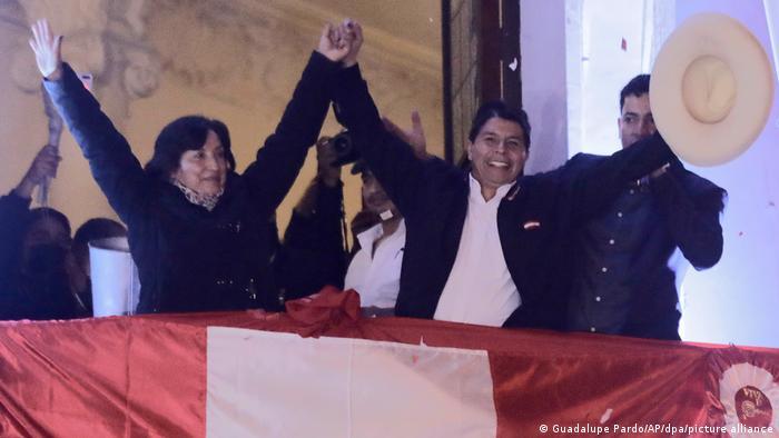 Peru I Pedro Castillo gewinnt Wahl in Lima