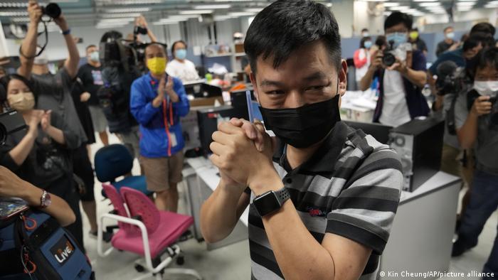 Hong Kong Sicherheitsgesetz l Lam Man-chung, Executive Editor-in-Chief von Apple Daily