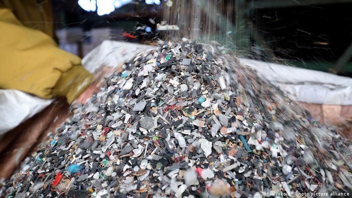 Olympische Sommerspiele 2020   Projekt Medaillen, Recycling Elektronische Geräte