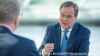 CDU'lu Armin Laschet