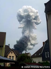 Leverkusen Explosion Chempark
