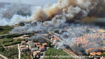 Πυρκαγιές στην Ιταλία