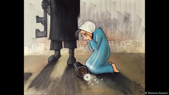 Shamsia Hassani: Muerte a la oscuridad