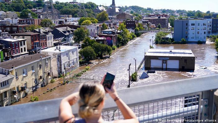USA   Hurrikan Ida   Philadelphia