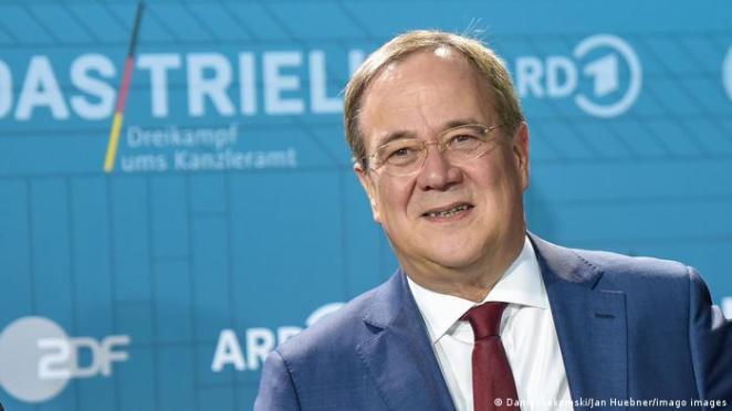 CDU/CSU'nun adayı Armin Laschet