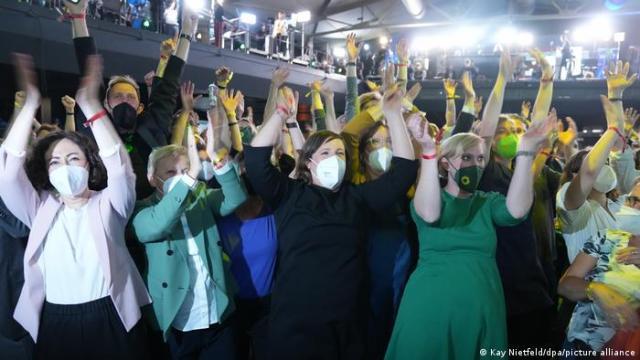 Los Verdes celebraron su 15 por ciento.