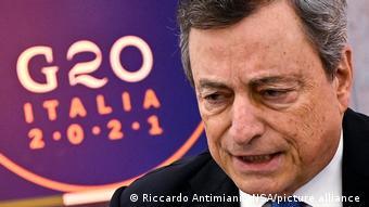 Μάριο Ντράγκι, Ιταλία, G20