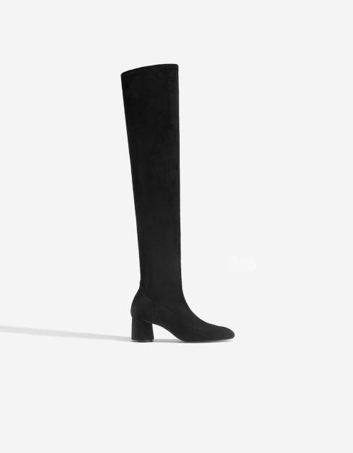 botas altas tacón engras rodilla low cost baratas económicas black friday