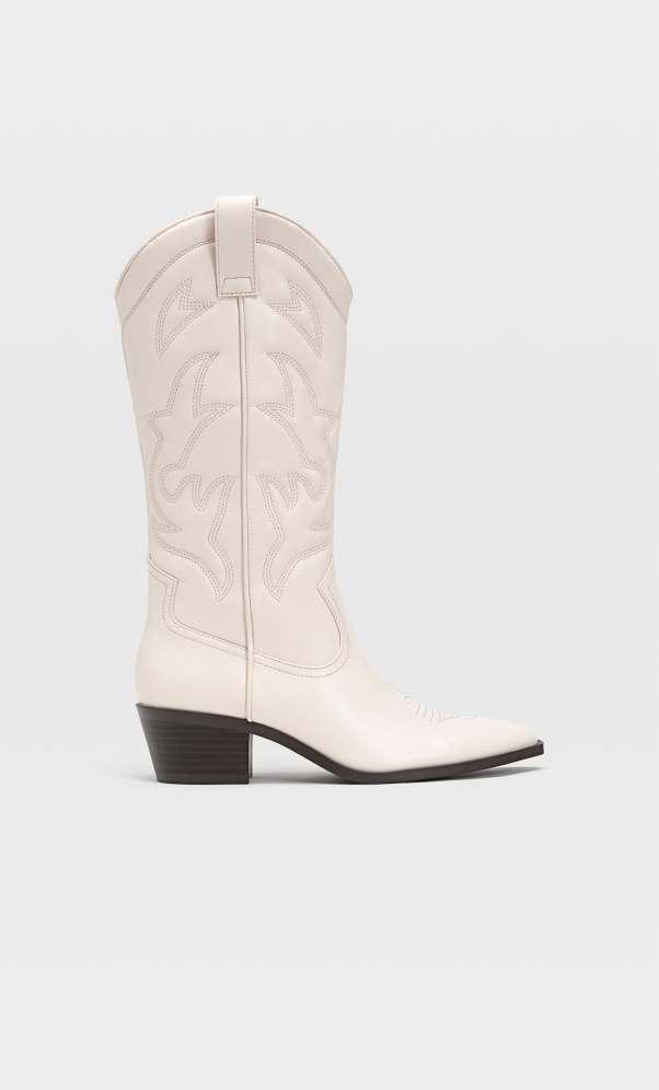 STR_Heeled cowboy boots_1 stradivarius
