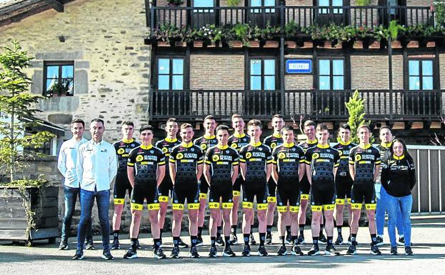 The Aiarabike starts with 18 cyclists, seven Alaves and nine debutants in sub'23