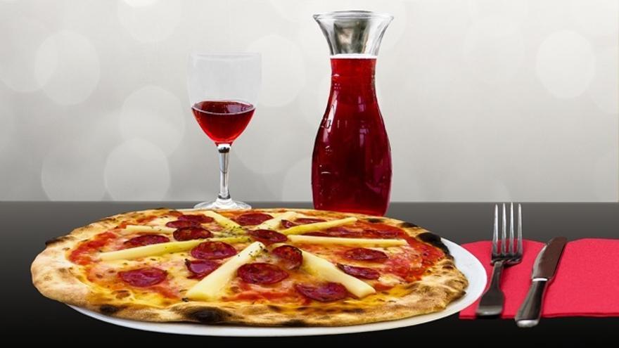 ¿Con qué vino marida mi pizza?