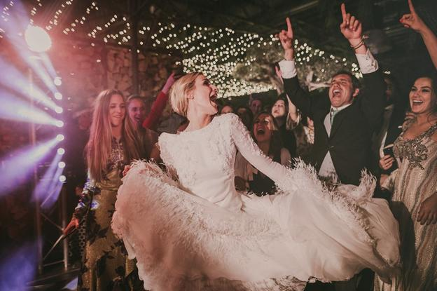 Animación en la boda de María y Jaime.